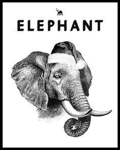 Elephant magazine by Hayley Warnham Magazine Covers, Elephant, Journal, Christmas, Movie Posters, Xmas, Film Poster, Weihnachten, Popcorn Posters