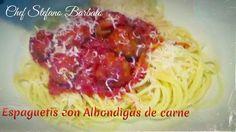http://www.chefstefanobarbato.com/es/albondigas-de-carne-en-salsa-de-tomate/ #espaguetis con #albondigasdecarne #albondigas #carne #res #cocina #chef #BuenProvecho