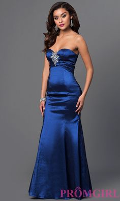 Long Prom Dress Detail Image 1