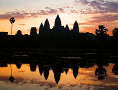 World-famous Angkor Wat, Cambodia. Click for interview about career-break travel.