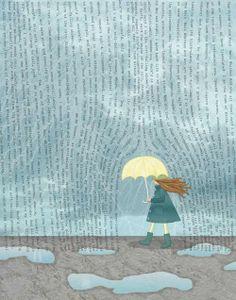 words rain