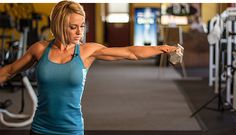 Build strong, round shoulders with this mass-making deltoid workout from IFBB Figure pro Jessie Hilgenberg! With great symmetry comes a great physique.