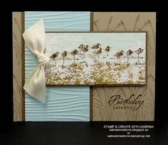 Stamp & Create With Sabrina: Wetlands 5 Cased - see details - http://sabradcreations.blogspot.ca/2015/08/wetlands-5.html