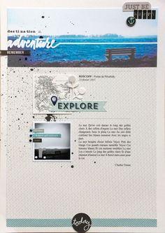 #papercrafting #scrapbook #layout