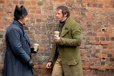 Alternate universe in which Valjean and Javert go out for Starbucks every Wednesday. No bread theft required.