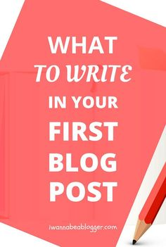 You need ideas. Many ideas, not only for your first blog post, but for your next posts too.