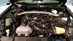 First Look At 2019 Ford Mustang Bullitt Engine