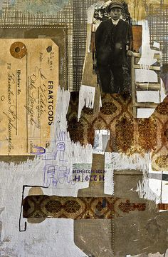 fraktgods,collage by Anne Lindblom
