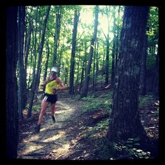 In the woods on day one #RCrun #trailrunning #trail #trailrace