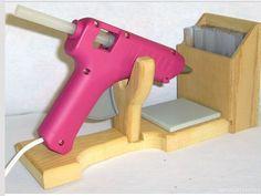 Soporte pistola silicona caliente