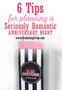 Perfect ideas for anniversary NIGHT!