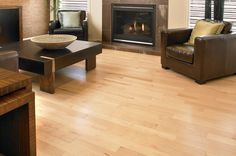 "Mirage Fairview Classic 4.25"" Wide Natural Maple 3/4"" Solid Hardwood"