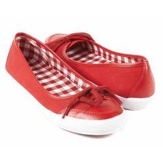 Liz Claiborne Slinky Red women Flats Size 7.5 « Impulse Clothes
