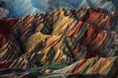 Breathtaking Photos of Colorful Rock Formations in China - My Modern Metropolis