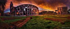 """Coliseum at dawn, Roma - Coliseum at dawn <a href=""""http://dleiva.com/"""">dleiva.com/</a>"""