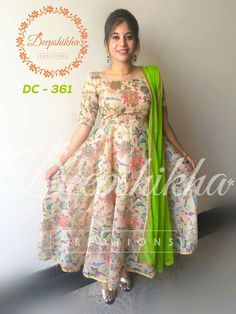 Kurta Designs Women, Kurti Neck Designs, Dress Neck Designs, Blouse Designs, Kalamkari Dresses, Ikkat Dresses, Long Gown Dress, Saree Dress, Dress Skirt