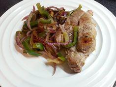 Foodie in Translation: Bistecca alla piastra con peperone e cipolla!