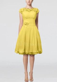 yellow lace dress - Em's wedding