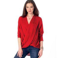 englisches Schnittmuster McCalls 6991 Shirt