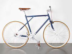 FreshCotton - Fixed Bike Deluxe Singlespeed & Classic Bikes color combination fixed bike inspiration saddle leather handlebar custom