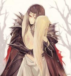 Silmarillion___Melkor× Mairon(Morgoth× Sauron) ...