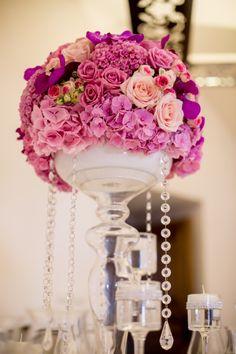 Dekorace svatebních stolu