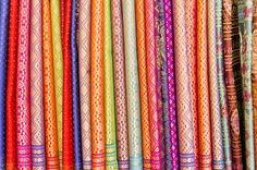 Rainbow silks
