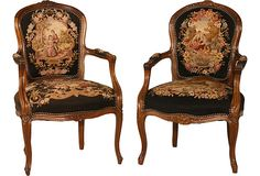 Tapestry Chairs Victorian Chair, Old World Style, Antique Chairs, Home  Decor Styles,