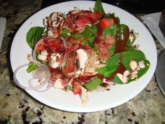 Theme Restaurants Copycat Recipes: The Melting Pot Spinach and Mushroom Salad