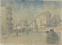 Vincent van Gogh The Boulevard de Clichy