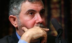 Paul Krugman - one of the few economists talking sense during the financial crisis, rather than defending the status quo. Should have been named Secretary of the Treasury instead of Geithner.