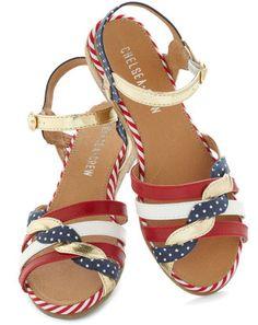 'Merica sandals