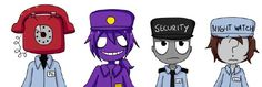 Which Fnaf Security Guard Is Your Boyfriend? (Girls Only) - Quiz
