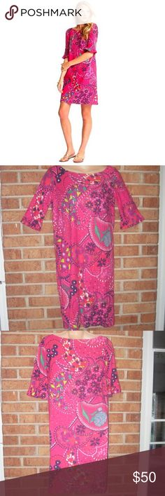 Lilly Pulitzer Garden Menagerie Somerset Dress Size: XS. Length: Approximately 34 inches long. Waist: Approximately 34 inches. Approximately 17 inches from armpit to armpit. Floral print. Ruffle detailing on sleeve ends. Unlined . 100% Cotton. No known stains or holes. Lilly Pulitzer Dresses