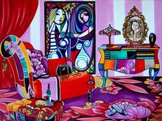 Art Print of Still Life Interior Whimsical by kMadisonMooreFineArt