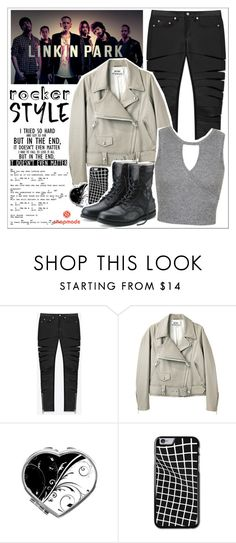 """Look # 604 (Snapmade #5)"" by lookat ❤ liked on Polyvore featuring Yves Saint Laurent, Acne Studios, Miss Selfridge and Park Designs"