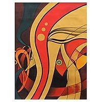 'Praying Ganesha'