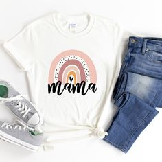 Mother/'s Day Tee Bear Tee Mama Bear Shirt Shirt for Mom Mother of the Bride Shirt Birthday Gift for Mom Baby Announcement Tee Shirt