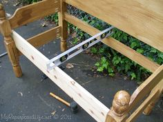 how to build a headboard bench (2)