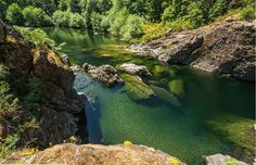 This BC Oasis Has 3 Miles Of Swimming Holes Lined Along A River The Sooke potholes are magical place in British Columbia that provide visitors with over 3 miles of [& Wanderlust, Swimming Holes, Vancouver Island, Canada Travel, Island Life, Weekend Getaways, Day Trips, The Great Outdoors, Adventure Travel