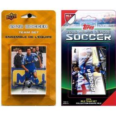 C Collectables MLS Montreal Impact 2 Different Licensed Trading Card Team Sets