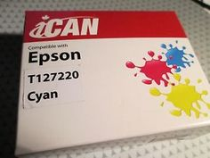 Ink 3 Kinds For Epson T127220 T127 NX530 NX625 WorkForce 630 633 635 645 840 845   Ink cartridges for Epson 7127220, 7127, nx530   Vist site for full detals