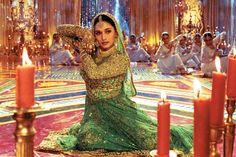 Madhuri Dixit, amazing dancer and actress in Devdas