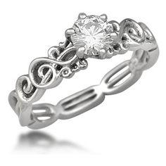 Treble Clef Ring~♥