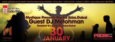 Mystique Presents Pacha Ibiza- Dubai - see more on http://ift.tt/1ZZqLWU #events #mauritius