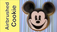 Airbrushed character cookies tutorial