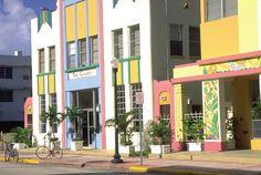 Miami .. love the Art Deco