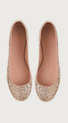 Sparkly Ballet Flats for your wedding day. www.planitcfl.com