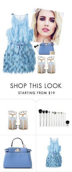 """""""Scream Queens."""" by samhoran95 ❤ liked on Polyvore featuring Valentino, Patagonia, Fendi, outfit, fashionset and ScreamQueens"""