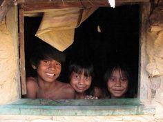 Crianças Krahô, Tocantins